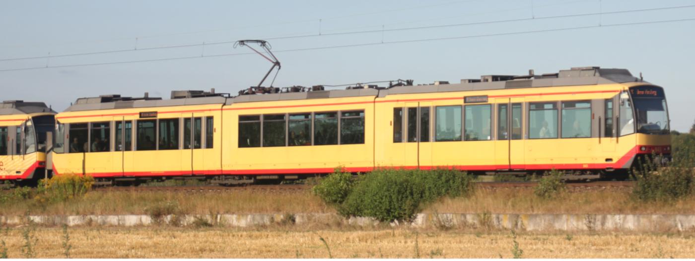 Mit der Stadtbahn zum Kirchentag